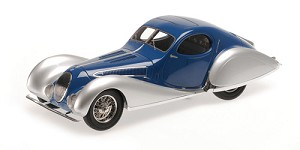 Talbot Lago T150-C-SS coupe 1937 blue