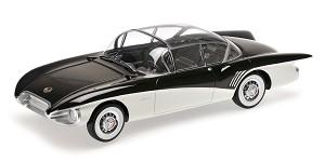 Buick Centurion concept 1956 black/white