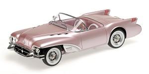 Buick Wildcat II concept 1954 salmon