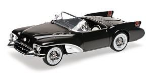Buick Wildcat II concept 1954 black