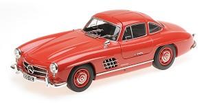 Mercedes 300SL (W198) 1955 red