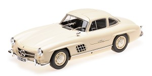 Mercedes 300SL (W198) 1955 cream