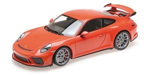 Porsche 911 GT3 2017 orange