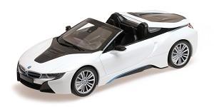 BMW I8 roadster (I15) 2017 white metalli