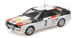 Audi Quattro Mikkola/Hertz winner