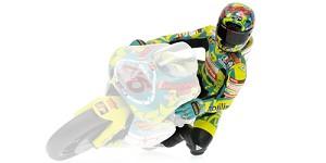Figurine riding V. Rossi GP 250 Mugello