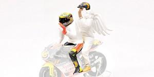 Figurine V. Rossi + angel GP250 Rio '99