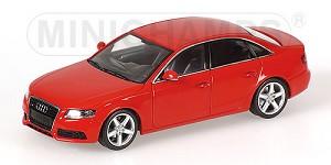 Audi A4 2007 red