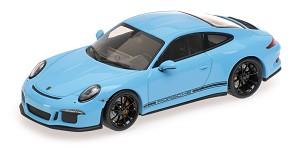 Porsche 911R Gulfblue w/ black writing