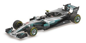 Mercedes AMG W08 V. Bottas GP China 201