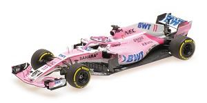 Sahara Force India VJM11 S. Perez 2018