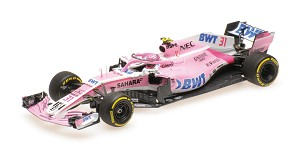 Sahara Force India VJM11 E. Ocon 2018