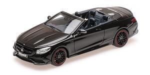 Brabus 850 (S63) cabriolet 2016 black