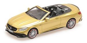 Brabus 850 S63 cabrio 2016 gold