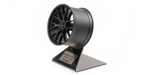 Porsche magnesium wheel 2020 satin black