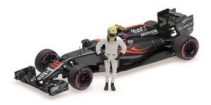 McLaren MP4-31 J. Button final GP Abu
