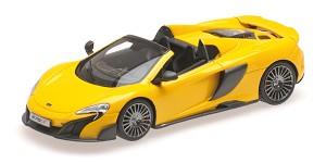 McLaren 675LT spider 2015 Volcano yellow