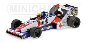 Toleman Hart TG183B A. Senna Brazilian G