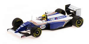 Williams Renault FW16 A. Senna GP Brazil