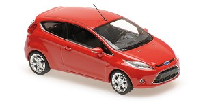 Ford Fiesta 2008 red