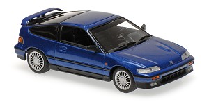 Honda CR-X coupe 1989 blue metallic