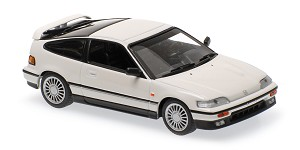 Honda CR-X coupe 1989 white