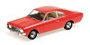 Opel Rekord C coupe 1966 red