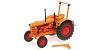 Hanomag R28 farm tractor 1953 orange