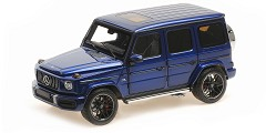 Mercedes AMG G63 2018 blue metallic