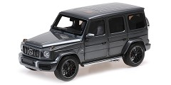 Mercedes AMG G63 2018 grey metallic