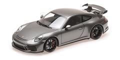 Porsche 911 GT3 2017 grey metallic