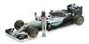 Mercedes AMG W07 N. Rosberg w/ figurine