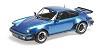 Porsche 911 turbo 1977 blue metallic
