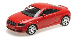 Audi TT coupe 1998 red