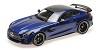 Mercedes AMG GTR 2017 blue metallic