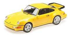 Porsche 911 turbo (964) 1990 yellow