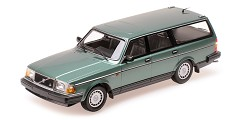 Volvo 240GL break 1986 green metallic
