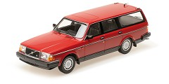 Volvo 240GL break 1986 red