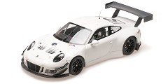 Porsche 911 GT3R plainbody version white