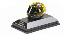 AGV helmet V. Rossi winter test Sepang