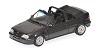 Opel Kadett GSI cabrio 1989 black