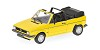 VW Golf I cabriolet 1980 yellow