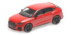 Audi RSQ3 2019 red metallic