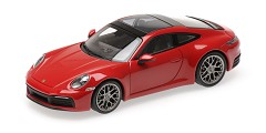 Porsche 911 Carrera 4S 2019 red