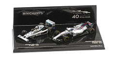 2-car set Williams FW06 jones 1978/ Wil