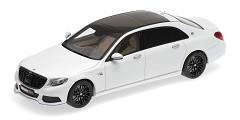 Maybach Brabus 900 (S600) 2016 white