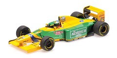 Benetton Ford B193B M. Schumacher winner
