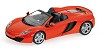 McLaren MP4-12C spider 2012 orange metal