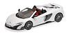McLaren 675LT spider Silica white