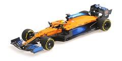 McLaren Renault MCL35 L. Norris launch